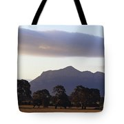 Picturesque Mountain Ranges Loom Tote Bag