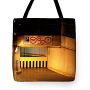 Picturesque Parking Tote Bag