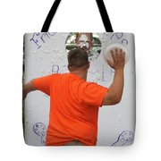 Pie Tossing 01 Tote Bag