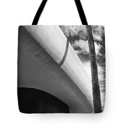 Piece Of The Sky  Bw Tote Bag