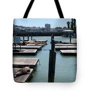 Pier 39 San Francisco Tote Bag