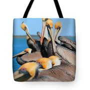 Pier Party Tote Bag