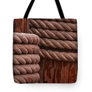 Pier Ropes II Tote Bag