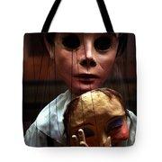 Pierrot Puppet Tote Bag
