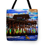 Pierscape Tote Bag