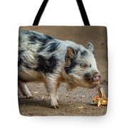 Pig With An Attitude Tote Bag