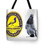 Pigeon Grand Bock Tote Bag