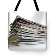 Pile Of Magazines Tote Bag