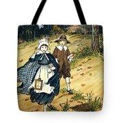 Pilgrim Schoolchildren Tote Bag