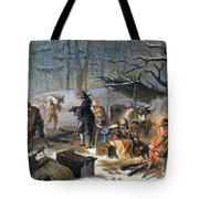 Pilgrims: First Winter, 1620 Tote Bag