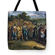 Pilgrims: Massasoit Tote Bag