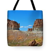 Pilot Butte Rock Formation Iv Tote Bag