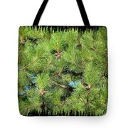 Pine Cones And Needles Tote Bag