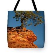 Pine On Rock Tote Bag