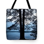 Pine Silhuette Tote Bag
