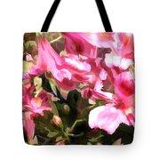 Pink Alstroemeria  Tote Bag