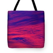 Pink And Purlple Morning Tote Bag