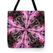 Pink And Purple Gemstones Jewelry Kaleidoscope Tote Bag