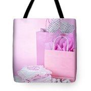 Pink Baby Shower Presents Tote Bag by Elena Elisseeva