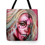 Pink Beauty Tote Bag