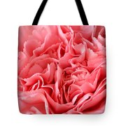 Pink Carnation Tote Bag by JD Grimes