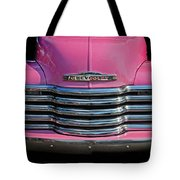 Pink Chevrolet Truck Tote Bag