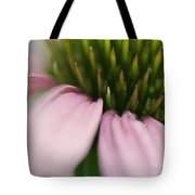 Pink Cone Flower Tote Bag
