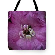 Pink Delphinium Tote Bag