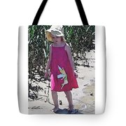 Pink Dress Tote Bag