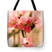 Pink Floral 1 Tote Bag