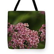 Pink Flower Cluster Tote Bag