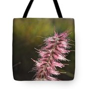 Pink Fuzzy Tote Bag