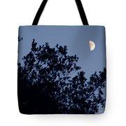 Pink Half Moon Photograph Tote Bag