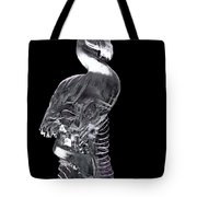 Pink Ice Flamingo Ice Carving Tote Bag