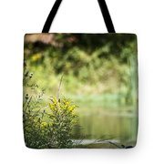 Pink In The Distance Tote Bag