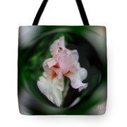 Pink Iris Energies Tote Bag