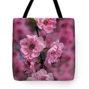 Pink On Pink Tote Bag by Robert Bales