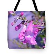 pink Penstemon  Tote Bag