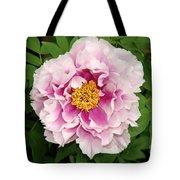 Pink Peony Flowers Series 1 Tote Bag