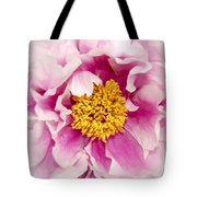 Pink Peony Flowers Series 3 Tote Bag