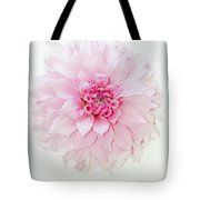 Pink Precious In White Tote Bag