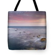 Pink Seasunset Tote Bag