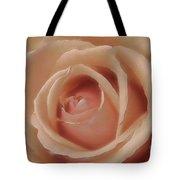 Pink Sensual Rose Tote Bag