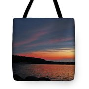 Pink Sky At Night Tote Bag