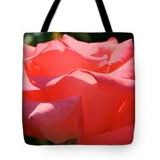 Pink Touch Of Class Petals Tote Bag