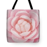 Pink Up Close And Personal Tote Bag by Rich Franco