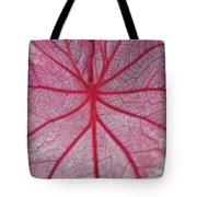 Pink Veins Tote Bag