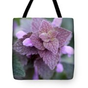 Pink Velvet Tote Bag