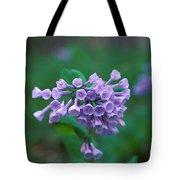 Pink Virginia Bluebells 1c Tote Bag