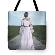 Pink Wedding Dress Tote Bag